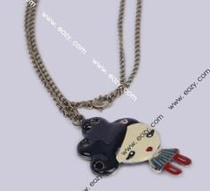 70cm Multicolor Sweater Chain Necklace Jewelry Vintage Charms
