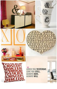 Home Decor: Typography love the saying at the bottom:  need to make that for our bedroom