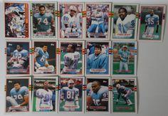 1989 Topps Houston Oilers Team Set of 16 Football Cards #HoustonOilers