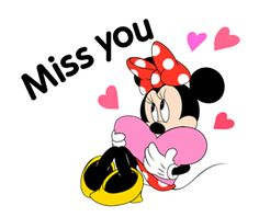 Minnie misses you. She'd love to see you again.