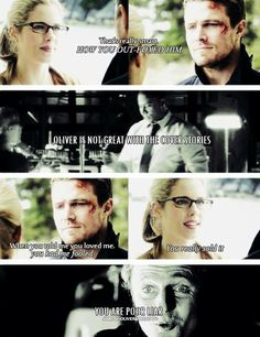 Arrow - Felicity and Oliver #Season2 #Olicity