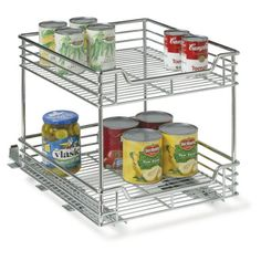 Household Essentials Two-Tier Basket Sliding Cabinet Organizer, Chrome, 14-1/2-Inch Household Essentials http://www.amazon.com/dp/B002PL5JUI/ref=cm_sw_r_pi_dp_23fNvb0EZZ84F