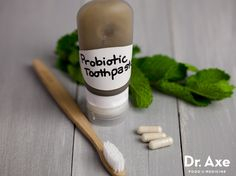Homemade Probiotic Toothpaste  http://www.draxe.com #health #holistic #natural