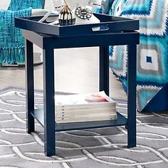 Happy Chic by Jonathan Adler Occasional Tray Table- Living room side table? Small Coffee Table, Small Tables, Girls Apartment, Relaxation Room, Space Interiors, Jonathan Adler, Table Furniture, Furniture Ideas, Beautiful Interiors