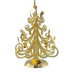 ChemArt Collectible Keepsakes Christmas Tree Holiday Ornament