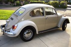 1970 VW Bug - like the one I learned to drive on