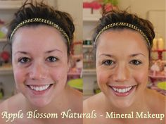 ~ Mineral Makeup Before & After Tutorials Makeup Before And After, Summer Glow, Minerals, Skin Care, Cosmetics, Apple, Nature, Fun, Tutorials