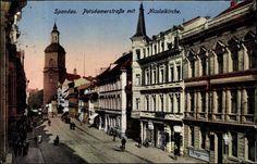 Altstadt Spandau:Die heutige Carl-Schutz-Strasse hiess bis 1939 Potsdamer Strasse