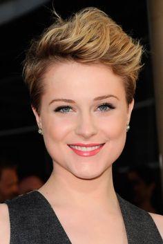 Evan-Rachel-Wood's short hairstyles