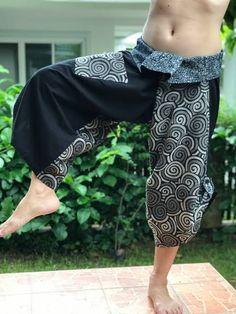samurai pants - Google Search Samurai Pants, Yoga Harem Pants, Bohemian Skirt, Fashion Pants, Long Maxi Skirts, Cotton Skirt, Black Men, Northern Thailand, Pants Style