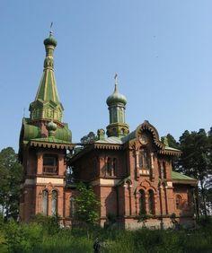 All  Saints church city Priozersk not far Saint Petersburg