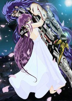 Saga y athena. Manga Anime, Comic Manga, Manga Comics, Manga Girl, Fanart, Spiderman Black Suit, Knights Of The Zodiac, Golden Warriors, Sailor Saturn
