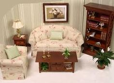 dollhouse living room furniture 1000 images about miniatures living room on 13263