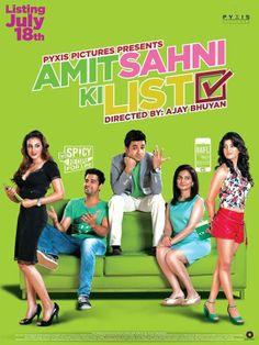 Watch Out the Poster of the #Romantic #Comedy Film #AmitSahniKiList #Fasttickets.in