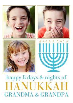 Merry Menorah - Hanukkah Greeting Cards in Tropical | Magnolia Press
