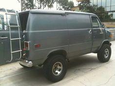 My lifted van