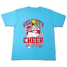 チアガール ピンナップ | デザインTシャツ通販 T-SHIRTS TRINITY(Tシャツトリニティ)