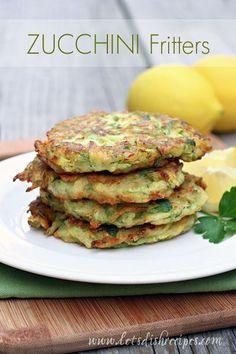 Zucchini Fritters #recipe