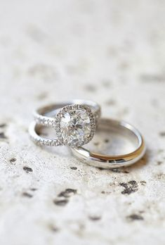 Brides.com: . 47. Clean your ring regularly at home. Everyday activities like showering and applying lotion can dull a diamond's luster. Clean it regularly with an ultrasonic jewelry cleaner or use a soft-bristle toothbrush, warm water, and mild, non-detergent soap. The good news is you can't over-clean a diamond!