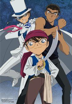 Conan Movie, Detektif Conan, Anime Naruto, Manga Anime, Manga Detective Conan, Kaito Kuroba, Kudo Shinichi, Magic Kaito, Totoro