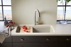The Sensate Touchless Tap is a designer touchless tap by KOHLER. It is designed to make the most out of your kitchen. Kitchen Taps, Kitchen Design, Seaside Kitchen, Inspired Homes, House Design, Sink Design, Wood Beam Ceiling, Working Area, Kohler