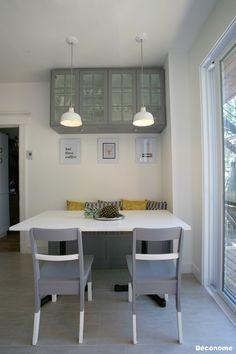 Lambris pvc element s taupe castorama salle de bain - Banquette de cuisine ikea ...