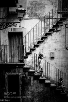 The staircase by divittorio Fotos en B&W