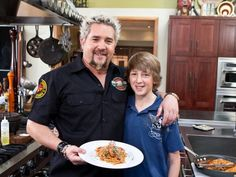 Follow these kitchen safety tips from Guy Fieri and his son Hunter to keep everyone safe and focused on what's really important: spending quality time together and cooking delicious family meals.