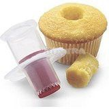 Use this handy kitchen tool to make all of your favorite filled cupcakes and impress all of your guests for Christmas. (Check out our blog for our favorite recipe) It makes taking out the center so ve