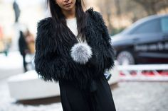 Stockholm Fashion Week Fall 2014 Street Style Day 2. #streetstyle