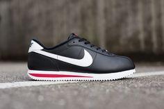"best website d94b3 ef138 Nike Cortez Basic Leather 06 ""Black, White  Gym Red"" Nike Cortez"