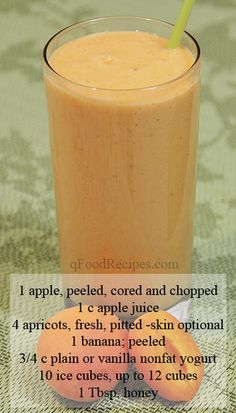 Apple Apricot Smoothie
