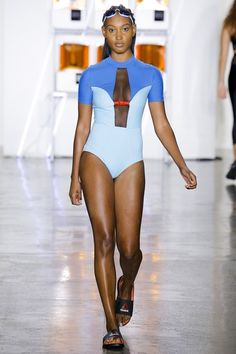 See the complete Chromat Spring 2017 Ready-to-Wear collection.