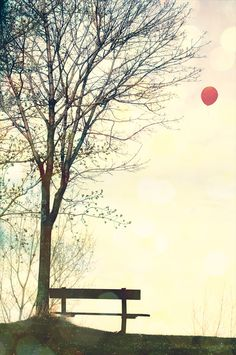♥wish you were here.....sending you love in a balloon