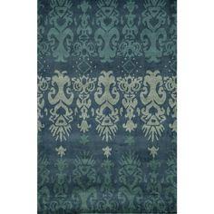 Global Rishdan Hand-tufted Wool Area Rug (8' x 10')