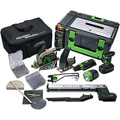 CEL Power8 Workshop Easy Tool Set | Overstock.com Shopping - The Best Deals on Cordless Tool Sets
