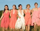 Custom fit for bridesmaids, in any color  TheRadicalThreadCo- Etsy