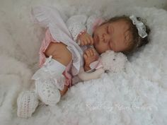 Custom Reborn Doll  Penny by Linda Murray  by RoseCottageReborns