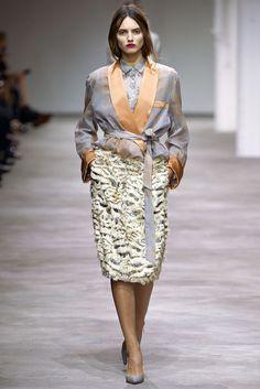 Dries Van Noten Spring 2013 Ready-to-Wear Fashion Show - Agne Konciute (Next)