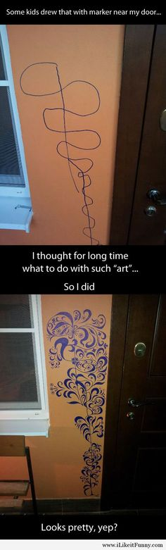 Funny pictures about A good skill to have when you have kids. Oh, and cool pics about A good skill to have when you have kids. Also, A good skill to have when you have kids. Amazing Art, Awesome, Wow Art, Pics Art, Drawing For Kids, Mind Blown, Oeuvre D'art, Artsy Fartsy, Just In Case