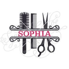 Hairstylist Split Monogram Cut SVG, DXF, EPS & PNG files instant download WHAT YOU'LL GET ~ 4 files: 1 SVG file that is compatible with Silhouette Studio, Cricut Design Space, CorelDRAW, Adobe Illustrator, Inkscape, Making the Cut, Sure Cuts A lot, and various other vinyl cutting