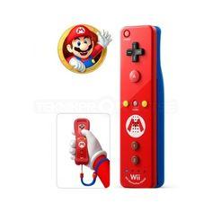 Nintendo Wii/Wii U Remote Plus, Mario Edition - Tillbehör - Teknikproffset