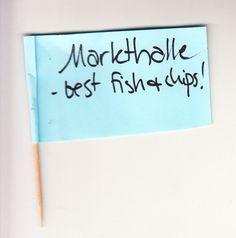 Markthalle - best fish & chips!
