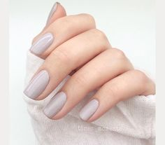 muted lilac wedding nails ~ we ❤ this! moncheribridals.com