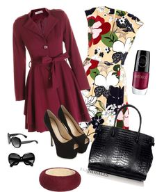 """""""Winter Work Outfit"""" by moomoofan on Polyvore"""