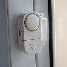 Wireless Home Magnetic Door Motion Detector Sensor Burglar Security Alarm System