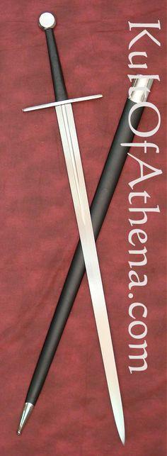 Hanwei Tinker Pearce Sharpened Bastard Sword with Fuller