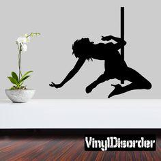 Stripper Wall Decal - Vinyl Decal - Car Decal - 032