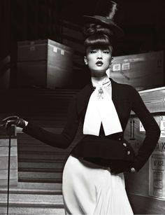 Numéro China #28 April 2013 Model: Du Juan Photographer: Yin Chao Fashion Editor: Jodeph Carle