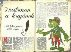 Hastrman a krajánek Scary, Fairy Tales, Crafts, Manualidades, Im Scared, Fairytail, Adventure Movies, Handmade Crafts, Craft